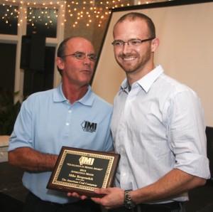 Apprentice Miner Award - Mike Respondek