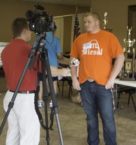 High School Student - Media Interview